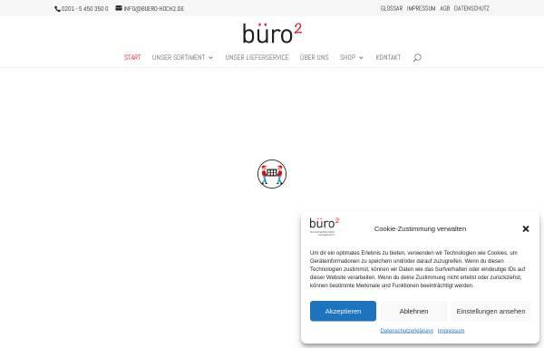 Vorschau von www.buero-hoch2.de, buero-hoch2.de Büromöbel GmbH