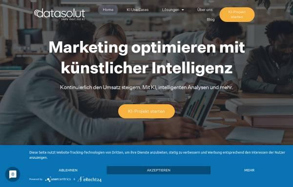 Vorschau von datasolut.com, datasolut Gmbh