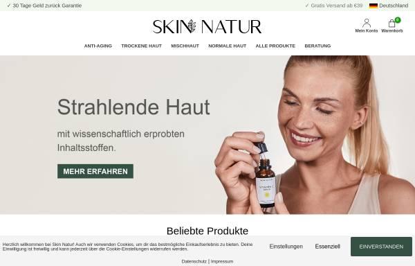 Vorschau von skinnatur.de, Skin Natur