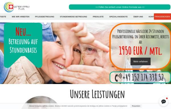 Vorschau von seniorfamilyplus.de, SENIOR FAMILY PLUS