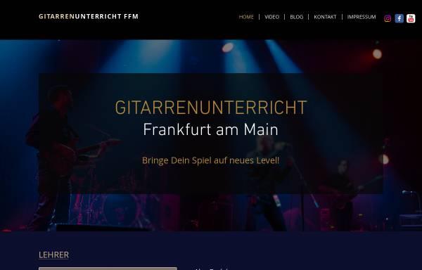 Vorschau von www.gitarrenunterricht-ffm.com, Gitarrenunterricht-Ffm Alex Berlakov