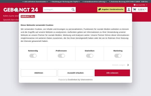 Vorschau von www.gebongt24.de, GEBONGT24
