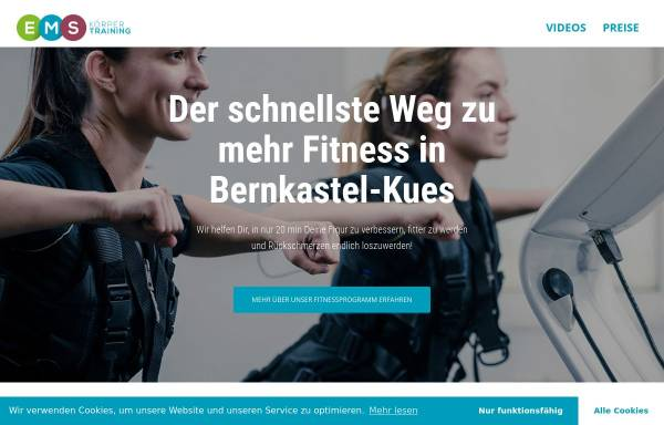 Vorschau von ems-koerpertraining.de, EMS-Körpertraining