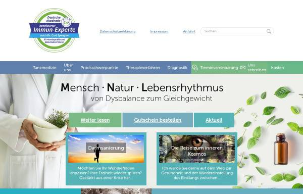 Vorschau von naturheilpraxis-sokolova.de, Naturheilpraxis Sokolova
