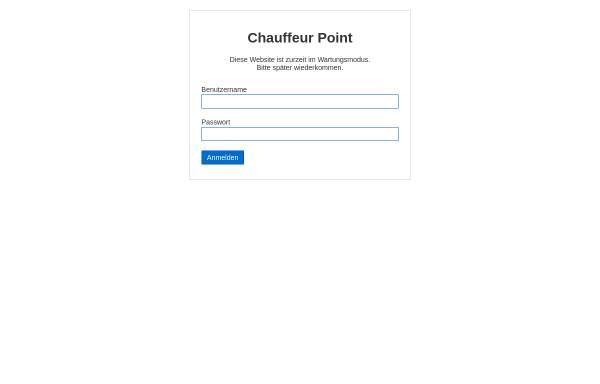 Vorschau von www.chauffeur-point.de, Chauffeurservice in Berlin
