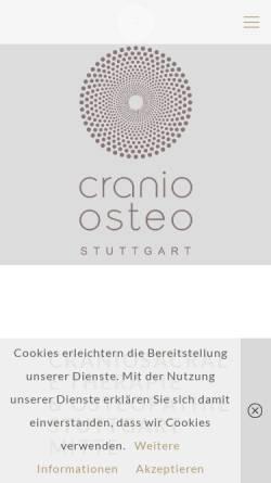 Vorschau der mobilen Webseite www.cranio-stuttgart.de, Cranio Stuttgart