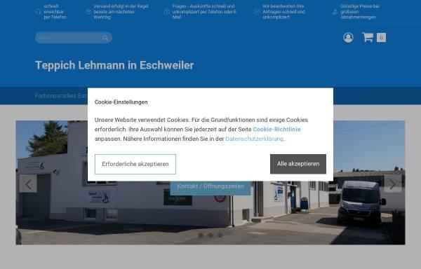 Vorschau von www.unser-farbenparadies-shop.de, Teppich Lehmann