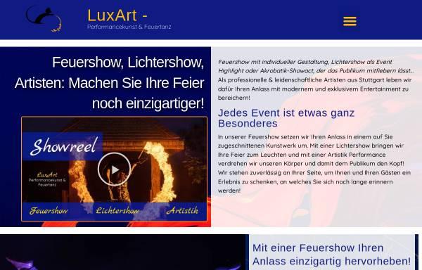 Vorschau von artistik-feuershow.de, LuxArt