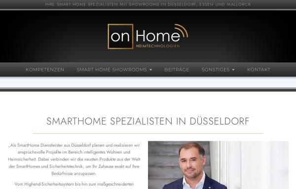 Vorschau von on-home.de, on-Home Heimautomation KG