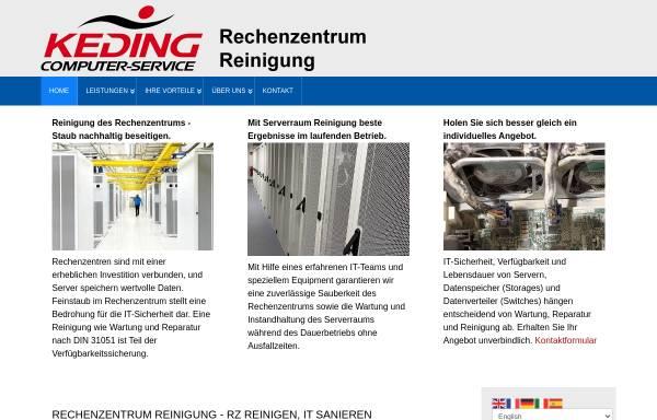 Vorschau von www.rechenzentrumreinigung.eu, Keding Compuer-Service