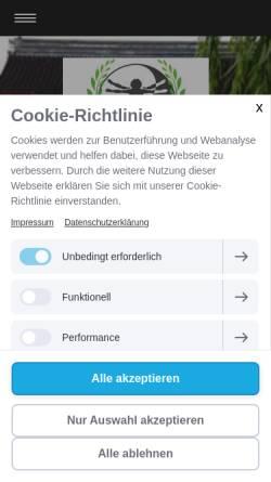 Vorschau der mobilen Webseite www.praxisim.de, Praxis I.M.