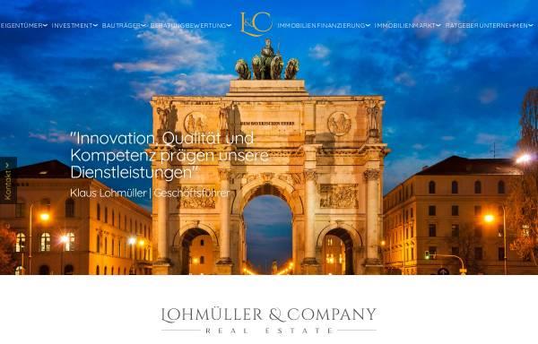 Vorschau von www.lohmuellercompany.de, Lohmüller & Company GmbH