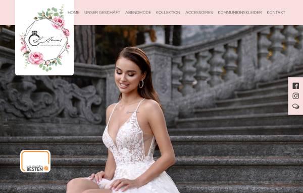 Vorschau von www.lamour-brautmoden.de, L'Amour Brautmoden