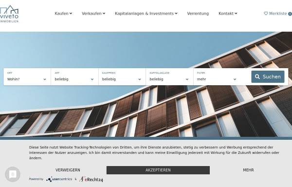 Vorschau von www.erz-immobilien.com, E.I.S. Immobilien GmbH