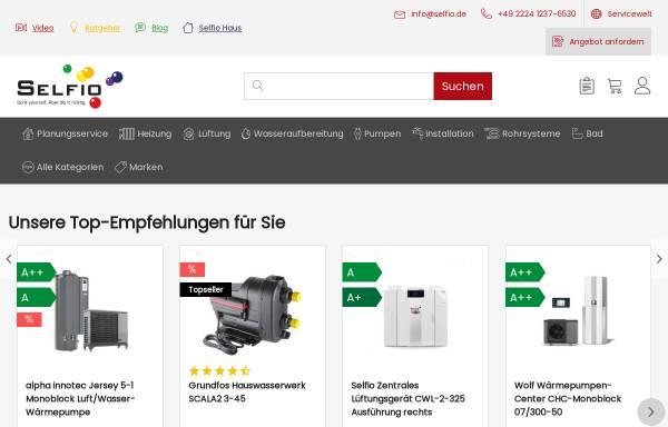 Vorschau von www.selfio.de, Selfio GmbH
