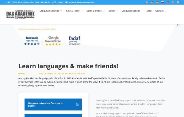 Vorschau von www.das-akademie.de, D.A.S. Akademie GmbH