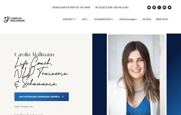 Vorschau von www.carolinmallmann.de, Carolin Mallmann