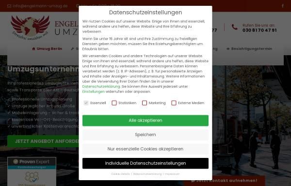 Vorschau von www.engelmann-umzug.de, Engelmann Umzüge