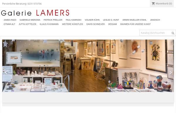 Vorschau von www.galerielamers.de, Galerie Lamers