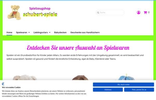 Vorschau von www.schubert-spiele.de, Schubert-Spiele