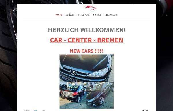 Vorschau von www.car-center-bremen.de, Car - Center - Bremen