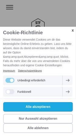 Vorschau der mobilen Webseite www.sventunnat.de, Sven Tunnat Fotografie