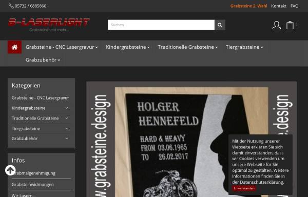 Vorschau von www.grabsteine.design, B-Laserlight