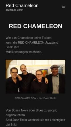 Vorschau der mobilen Webseite redchameleon.de, Red Chameleon