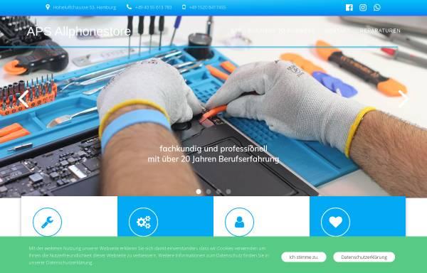 Vorschau von www.allphonestore.de, APS AllPhoneStore