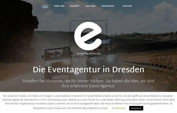 Vorschau von eventparkour.de, Eventparkour