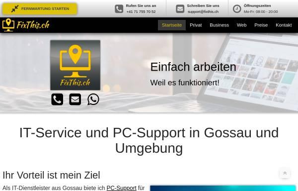 Vorschau von fixthis.ch, FixThis.ch