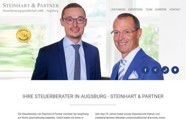Vorschau von steinhart-partner.de, Steinhart & Partner Steuerberatungsgesellschaft mbB