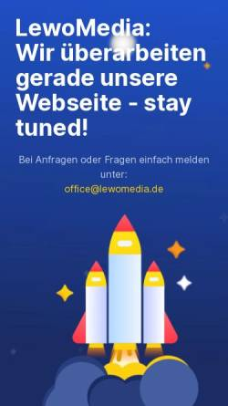Vorschau der mobilen Webseite www.lewomedia.de, LewoMedia