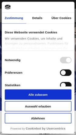 Vorschau der mobilen Webseite www.florian-drums.com, Mag.art. Florian Stöger