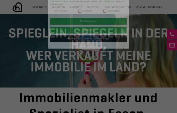 Vorschau von www.heimatliebe-immobilien.de, Heimatliebe Immobilien GmbH