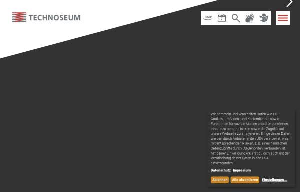 Vorschau von www.technoseum.de, TECHNOSEUM