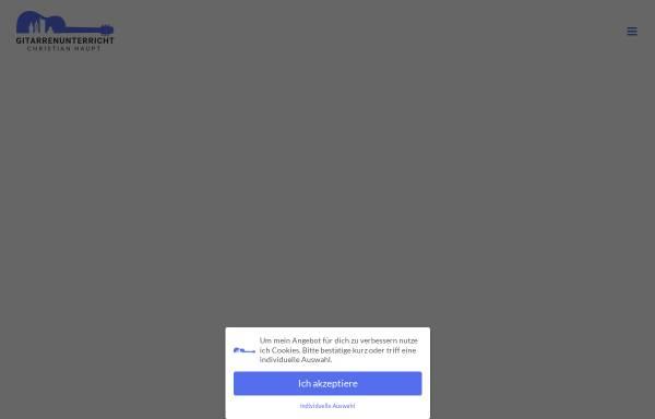 Vorschau von gitarrenunterricht-christianhaupt.de, Gitarrenunterricht - Christian Haupt