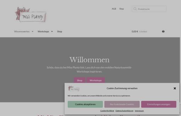 Vorschau von www.missplanty.com, Miss Planty