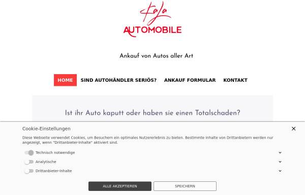 Vorschau von kala-automobile.de, KaLa Automobile
