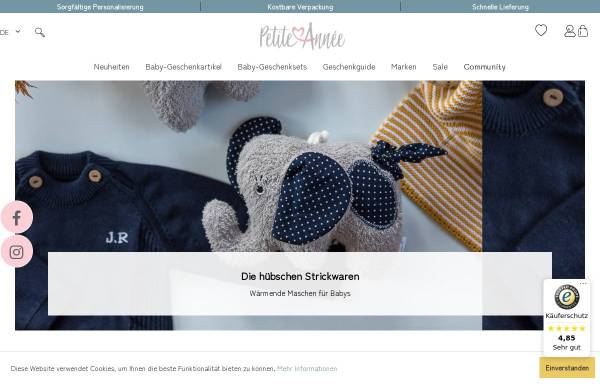 Vorschau von www.petiteannee.ch, Petite Annee