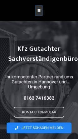 Vorschau der mobilen Webseite h-engine.de, Kfz Sachverständigenbüro H&Engine