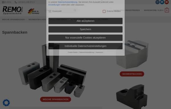 Vorschau von www.spannbacken.store, REMO GmbH