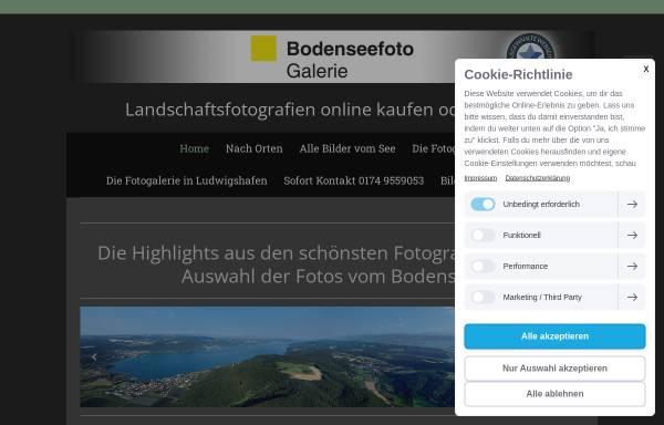Vorschau von www.bodenseefoto-galerie.de, Bodenseefoto-Galerie