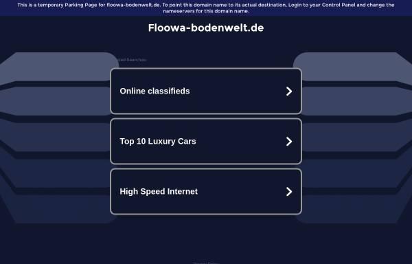 Vorschau von floowa-bodenwelt.de, floowa Bodenwelt