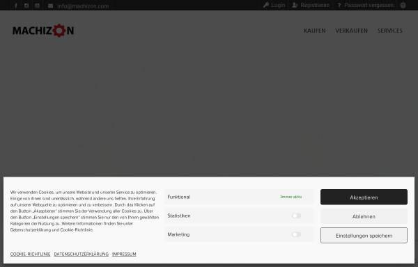 Vorschau von www.machizon.com, MACHIZON