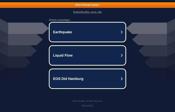 Vorschau von nadine.helmholtz-eos.de, NaDiNe - Natural Disasters Networking Platform
