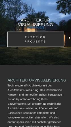 Vorschau der mobilen Webseite estaterender.com, Estate Render
