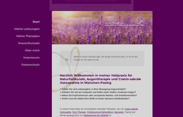 Vorschau von heilpraktiker-neuwinger.de, Ursula Neuwinger