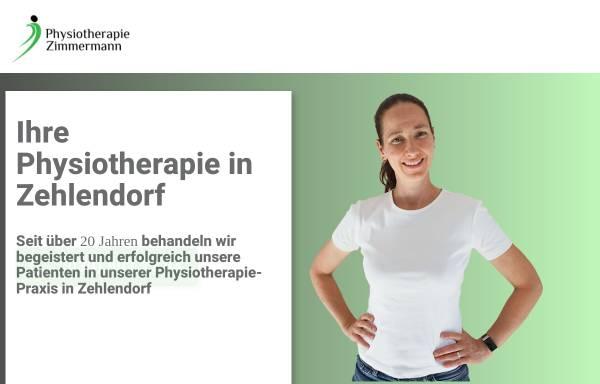 Vorschau von zimmermann-physiotherapie.de, Physiotherapie Zimmermann