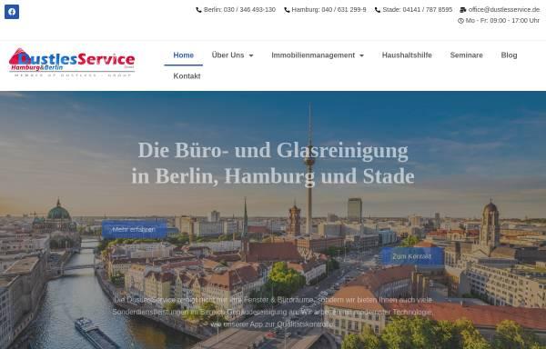 Vorschau von www.dustlesservice.de, DustlesService GmbH